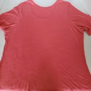 Lane Bryant Tops - Lane Bryant Coral Basic Supima Tshirt, Size 18/20